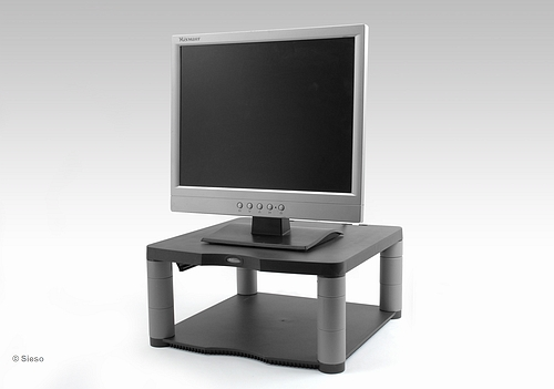 Premium Monitor Riser Graphite adjustable