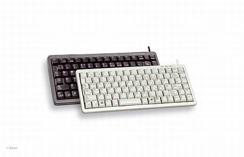 Compact volwaardig toetsenbord Cherry (Wit/Zwart)