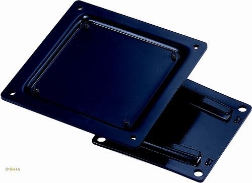 LCD Monitorarm, muur, zwart