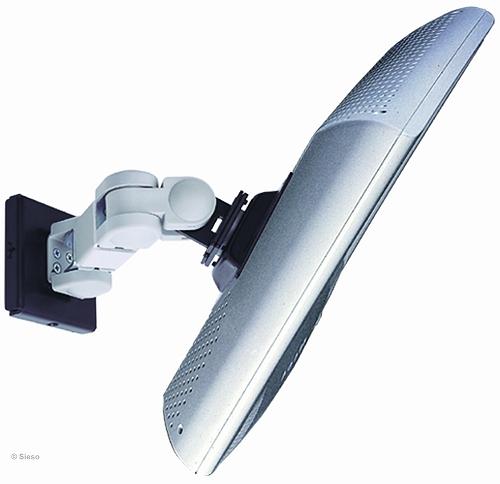 LCD TV/Monitor muurbevestiging - 4 instellingen - Crème