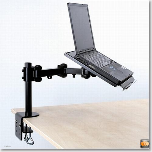 Notebook arm - hoogte: 0-27cm, diepte: 30-60cm