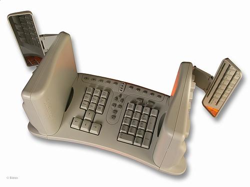 Vertical Desktop Keyboard Safetype