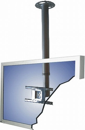 LCD Monitor ceiling mounted - height: 68 - 108cm