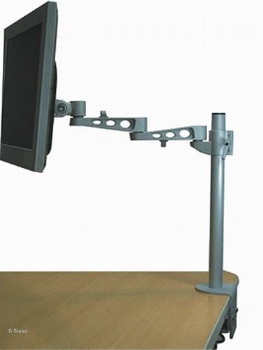 LCD Monitor Arm (deskclamp) - 5 adjustmentsn - length 500mm
