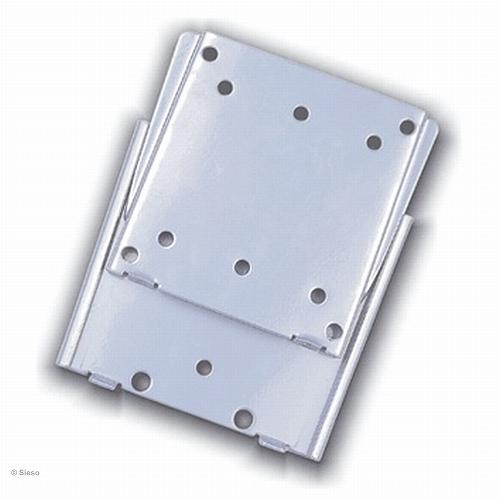 LCD TV/Monitor vlakke muurbevestiging - 10mm (max 30 kg) - Zilver