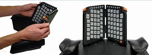Yogitype Ergonomical Natural hand position keyboard