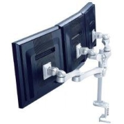 LCD Monitor Arm - deskclamp - 5 adjustments - length 621mm - 3 screens