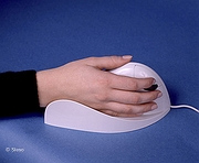 Vertical mouse Quill