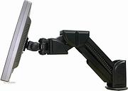 LCD Monitorarm, desk clamp, creme