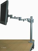 LCD Monitor Arm (deskclamp) - 5 adjustmentsn - length 500mm
