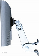 LCD TV/Monitor arm muurbevestiging - 5 instellingen - Crème