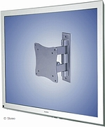 LCD TV/Monitor muurbevestiging - 3 inst. - lengte 50-70mm - Zilver
