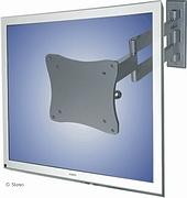 LCD TV/Monitor muurbevestiging - 4 inst. - lengte 45-355mm - Zilver